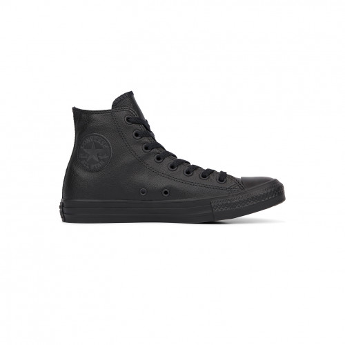 Converse Chuck Taylor All Star HI Mono Black Leather